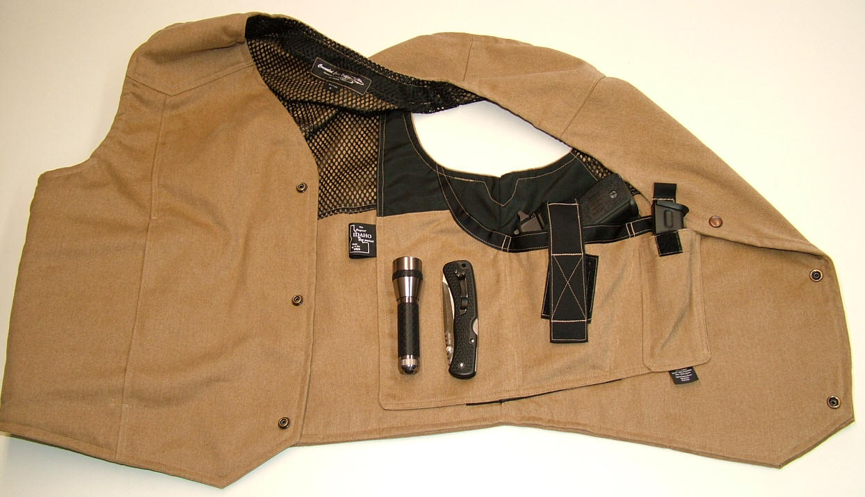 dress style jacket holster